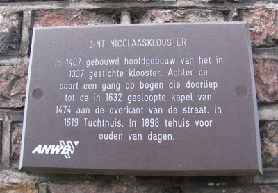 Text about Tugthuis