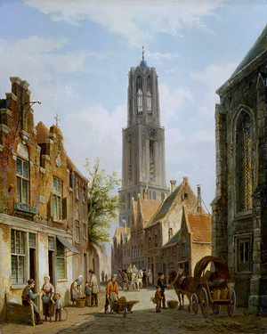 Dom Tower in 1870